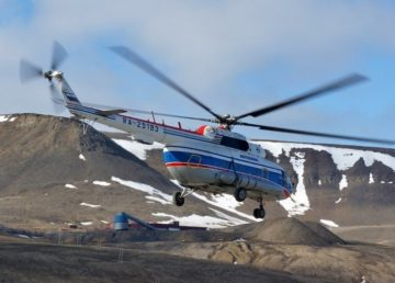 Вертолет тверской авиакомпании разбился в Гренландском море