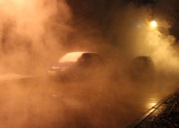 Прорыв на магистральной теплосети в Заволжском районе Твери - горячей водой затоплены несколько улиц