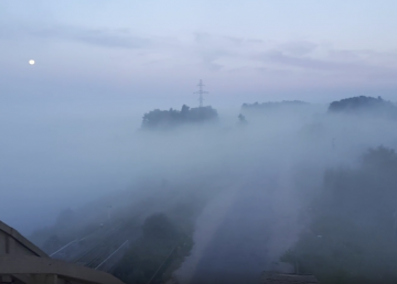 Жители Калязина жалуются на накрывший город дым