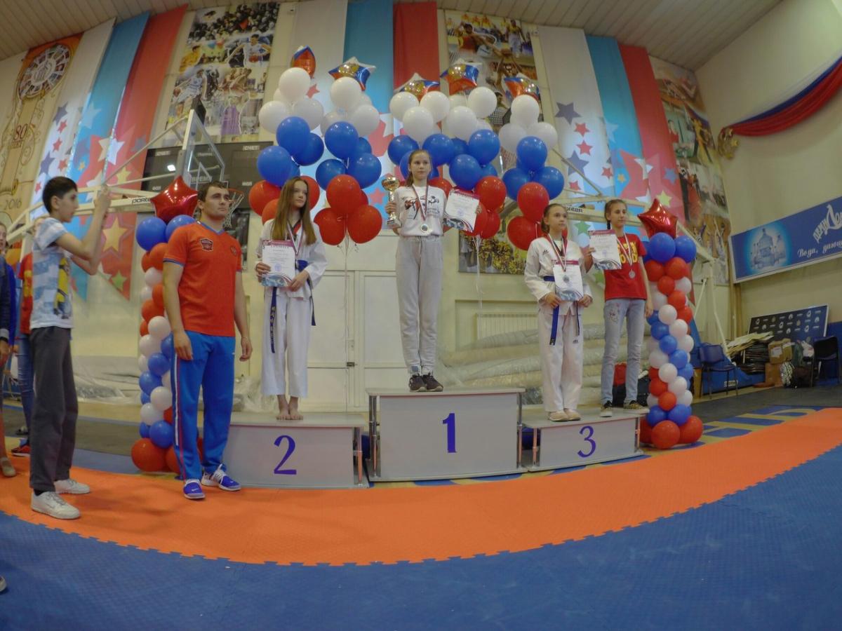 Спортсменка из Твери завоевала золото первенства ЦФО по тхэквондо