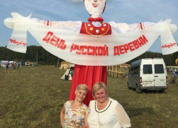 Вести с полей: в Есёмово продолжается День русской деревни