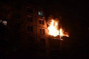В Твери на пожаре сгорела женщина
