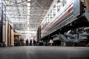 ТВЗ представил прототип вагона для железных дорог Египта
