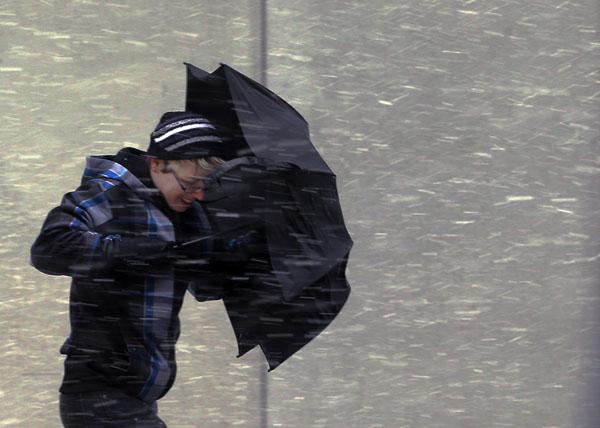 Жителей Твери предупредили о сильном дожде и снеге