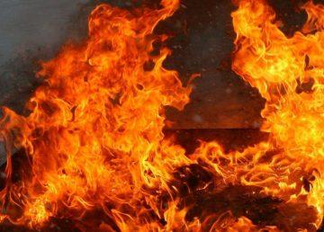 В Тверской области при пожаре погибли маленькие дети