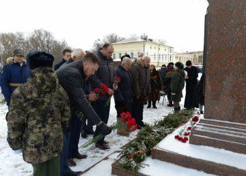 Прошли мероприятия, приуроченные к 76-летию освобождения Ржева от немецко-фашистских захватчиков