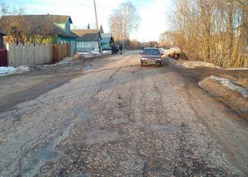 В Тверской области автомобиль сбил ребенка
