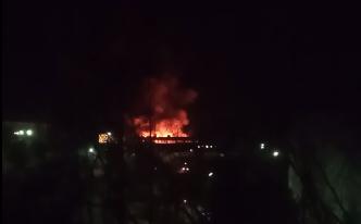 На крупном предприятии в Тверской области произошел пожар