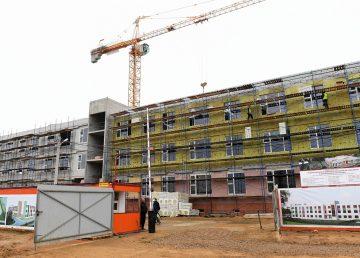 В Твери продолжается строительство двух новых школ