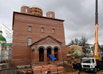 Купола Спасо-Преображенского собора в Твери установят в июне
