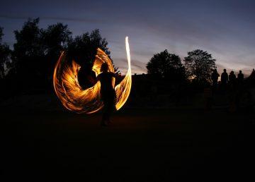 В Городском саду Твери состоится огненное шоу