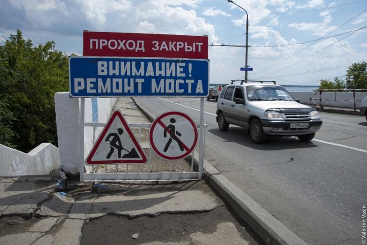 Мост в посёлок имени Крупской на время ремонта станет пешеходным