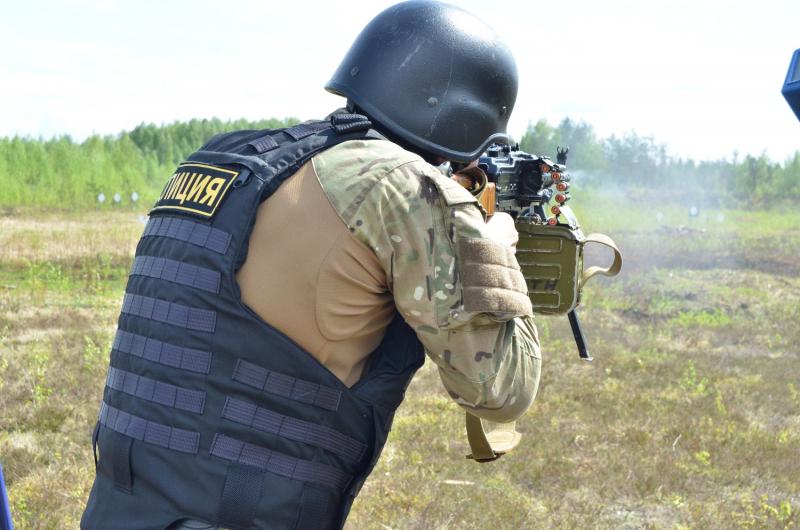 В Твери прошли масштабные соревнования по тактической стрельбе из боевого стрелкового оружия