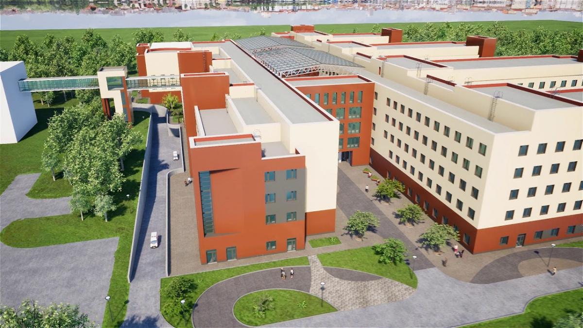 В Твери построят больницу за 5 млрд рублей
