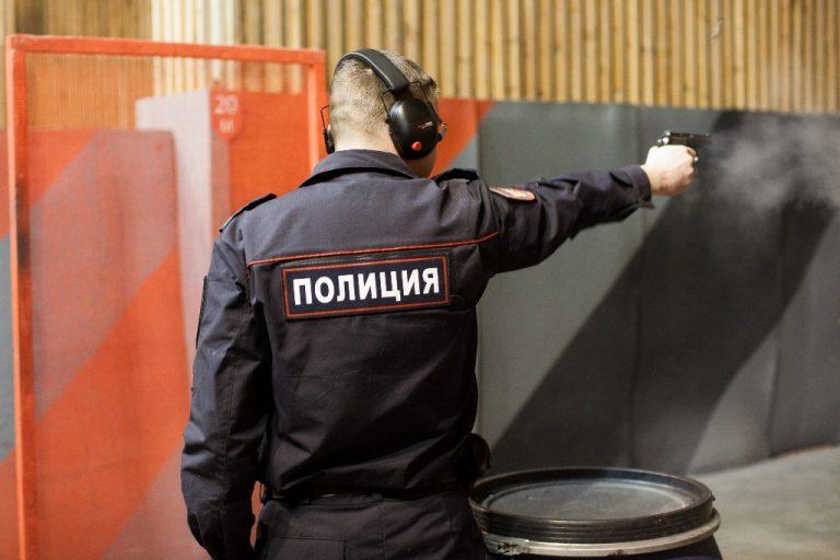 Тверские полицейские посоревновались в стрельбе