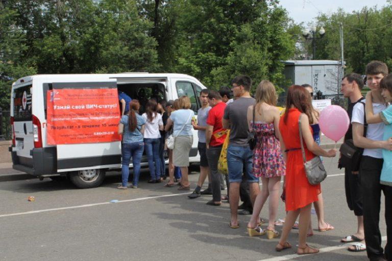 Сегодня в Твери работает мобильная ВИЧ-лаборатория