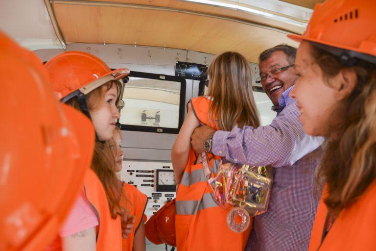 В МУП» Тверьгорэлектро» провели первую экскурсию для детей