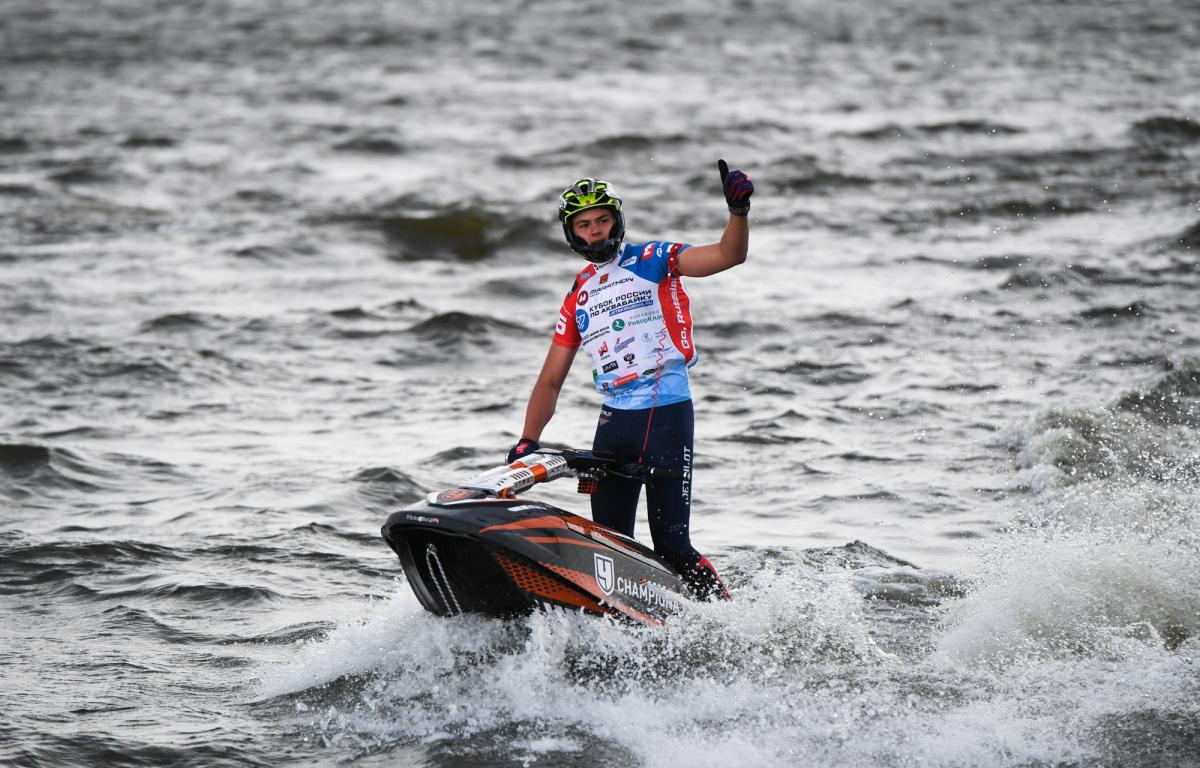 В Тверской области определили победителей в соревнованиях по аквабайку