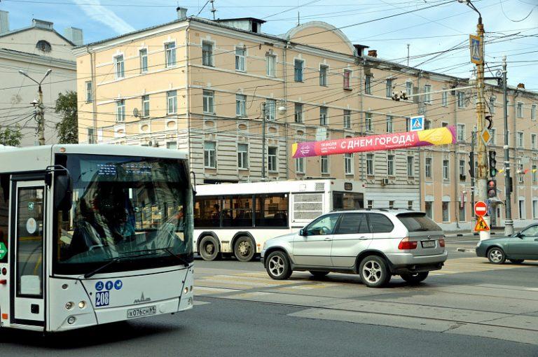 В День горда в Твери изменится схема движения общественного транспорта