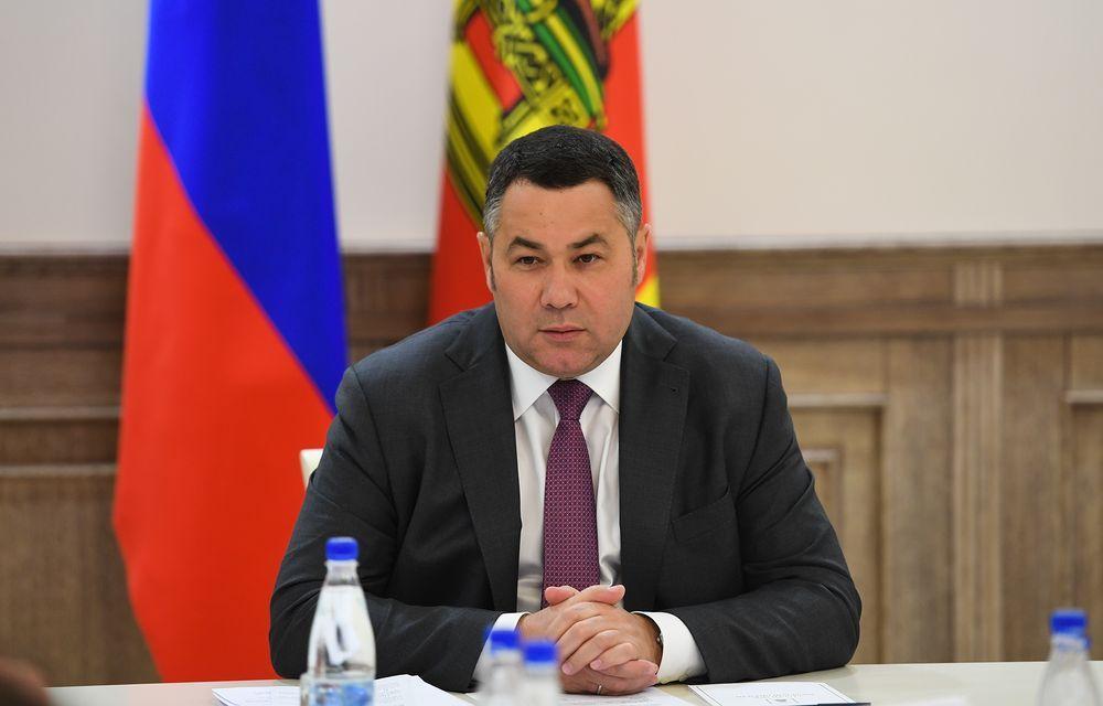 Губернатор Игорь Руденя поздравил жителей Твери с Днем города