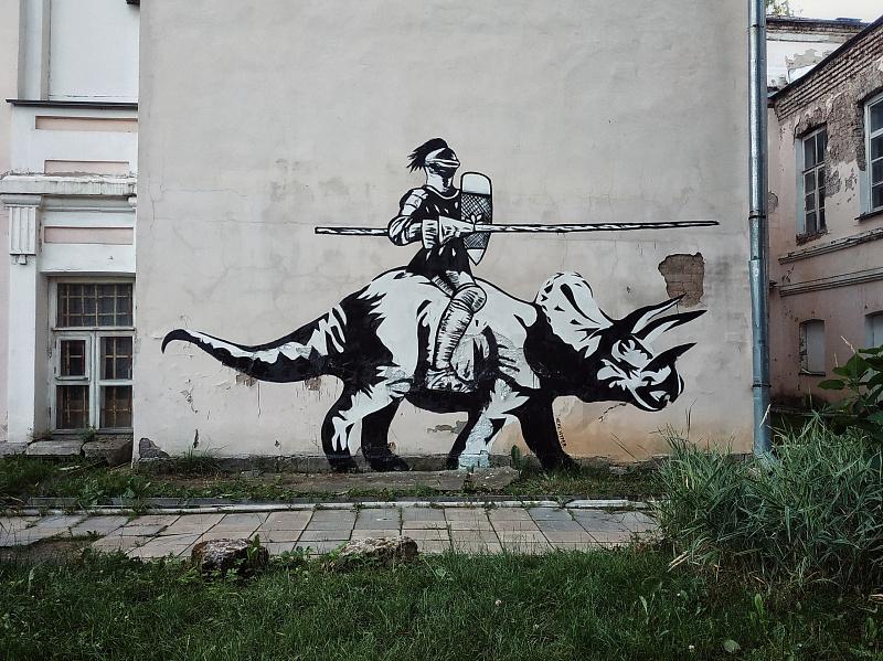 В Твери решают вопрос нелегальных граффити на фасадах исторических зданий