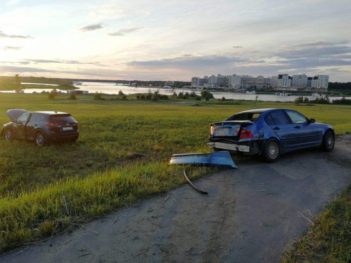В Тверской области трехмесячный ребенок пострадал в ДТП с участием двух автомобилей