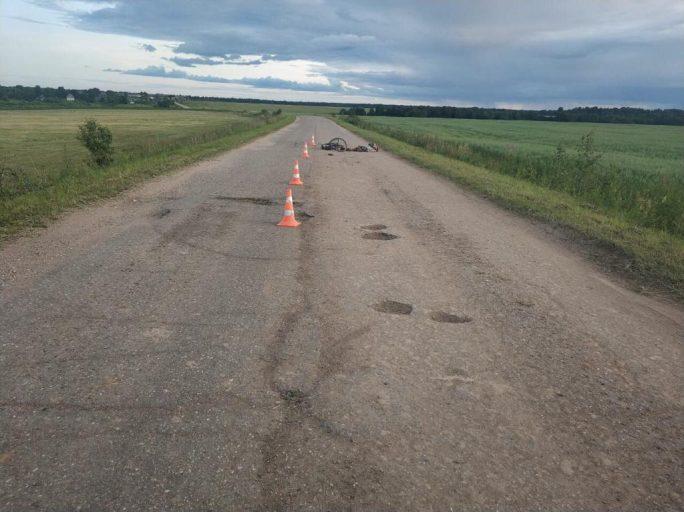 В Тверской области тракторист раздавил пьяного велосипедиста и скрылся с места ДТП