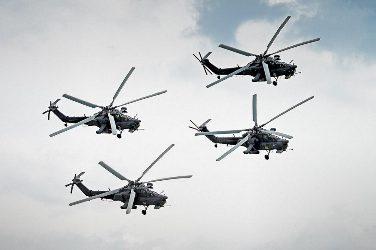 Тверские «Беркуты» выступили на закрытии «Авиадартса»