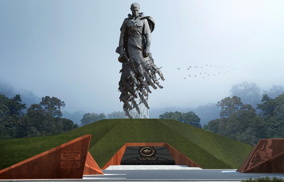 Игорь Руденя посетил площадку будущего мемориала во Ржеве