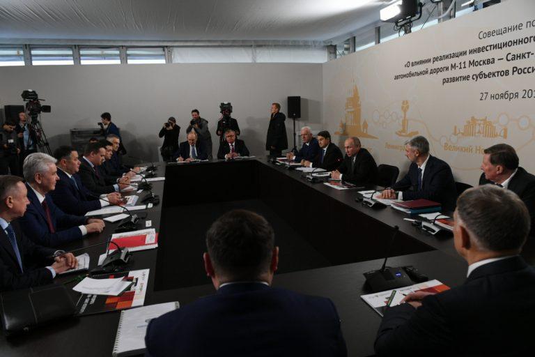 Тверской губернатор внёс предложения по развитию инфраструктуры М-11