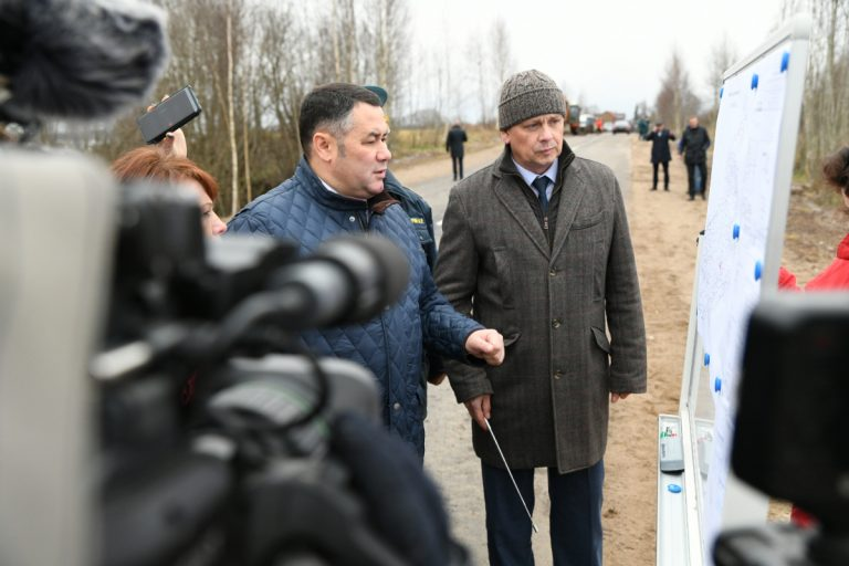 В Тверской области восстановили участок автодороги Толмачи — Ломовое