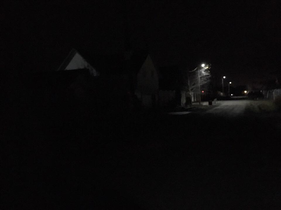 В Сандовском районе Тверской области теперь светят уличные фонари