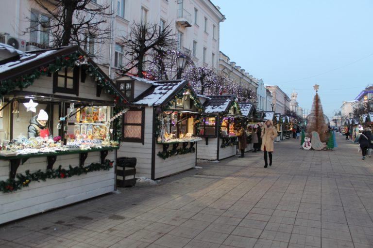 Стала известна программа развлечений на «Рождественской ярмарке» в Твери