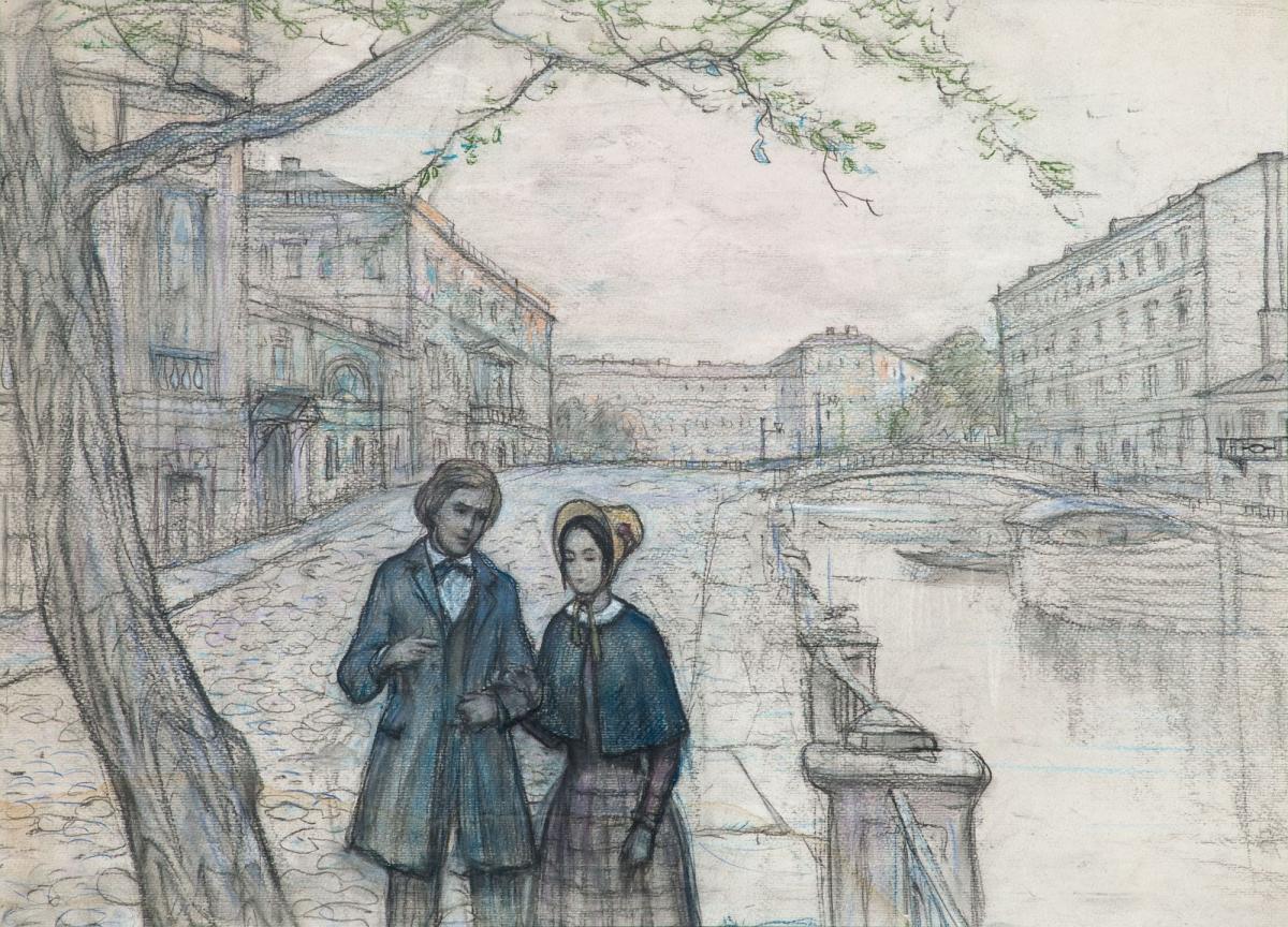 В Твери впервые организовали выставку художника Ильи Глазунова