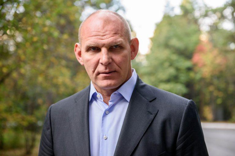 Тверскую область посетил борец и политик Александр Карелин