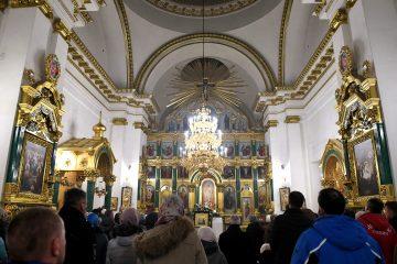 Тверской губернатор побывал на празднике Крещения Господня в Нило-Столобенской пустыни