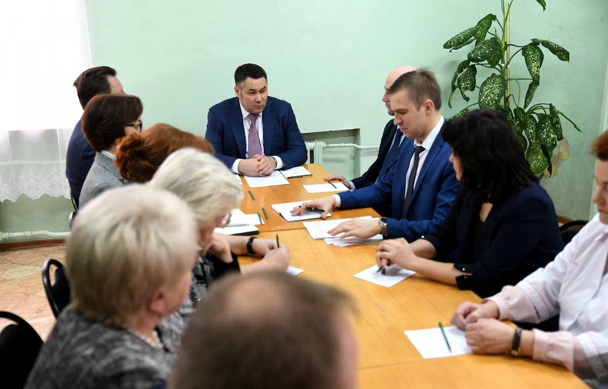 Новую детскую поликлинику построят в Тверской области