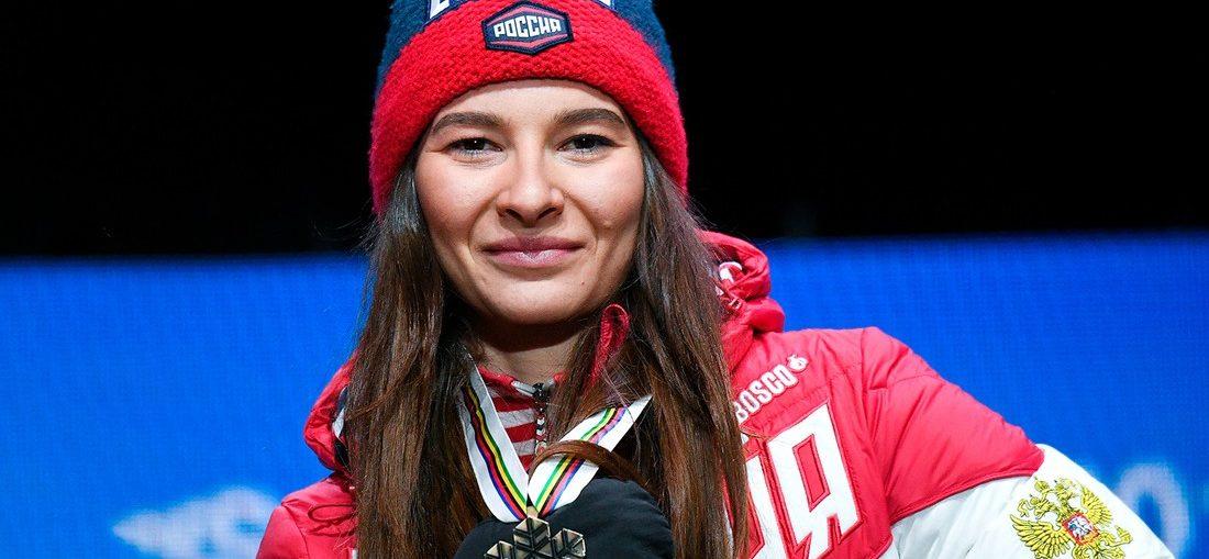 Тверскую лыжницу Наталью Непряеву глава региона поздравил с золотом на этапе Кубка мира