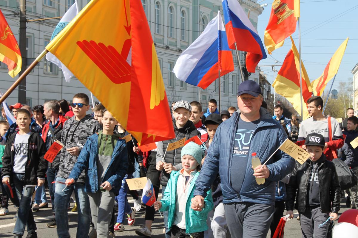 В Твери идёт подготовка к Первомайской демонстрации