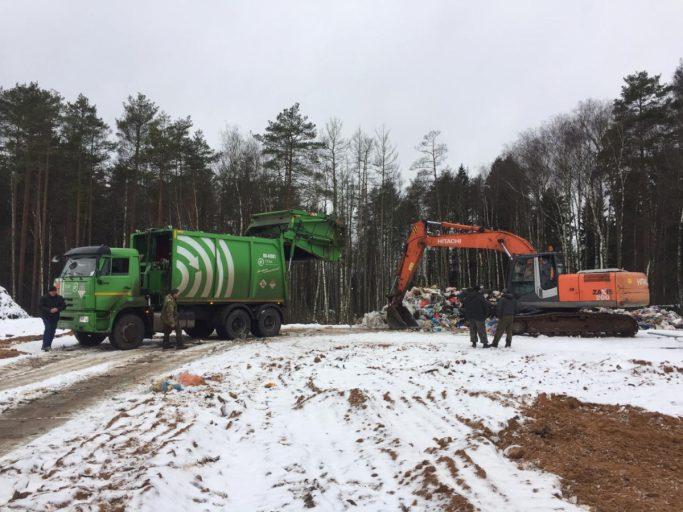 В Конаковском районе Тверской области успешно работает мусороперегрузочная станция