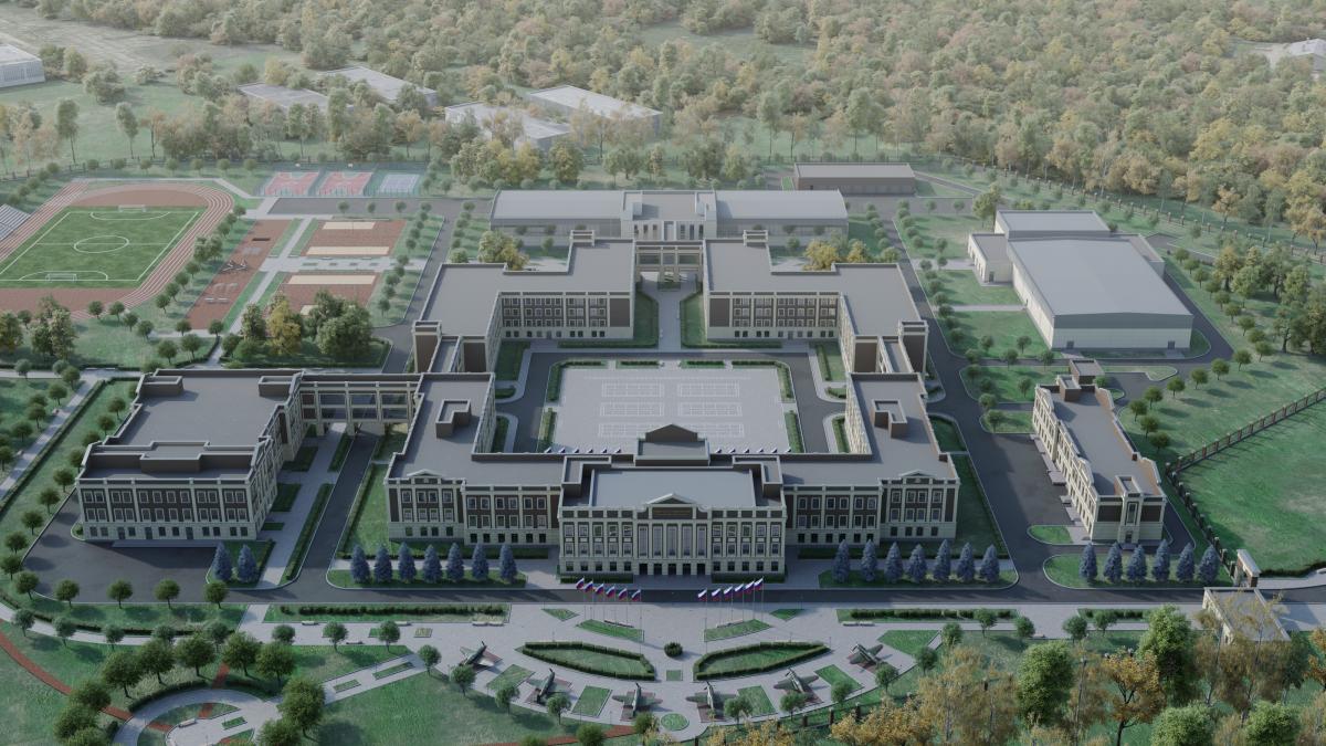 На остановку рядом с новым Суворовским училищем потратят 12 миллионов рублей