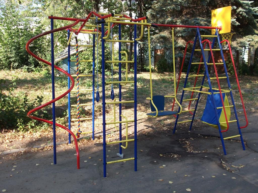 В Тверской области обустроят детские игровые комплексы