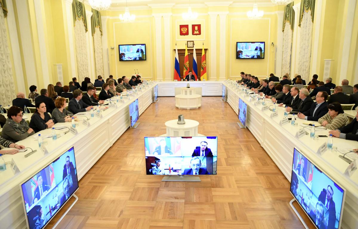 В Тверской области обсудили меры по предупреждению распространения коронавируса
