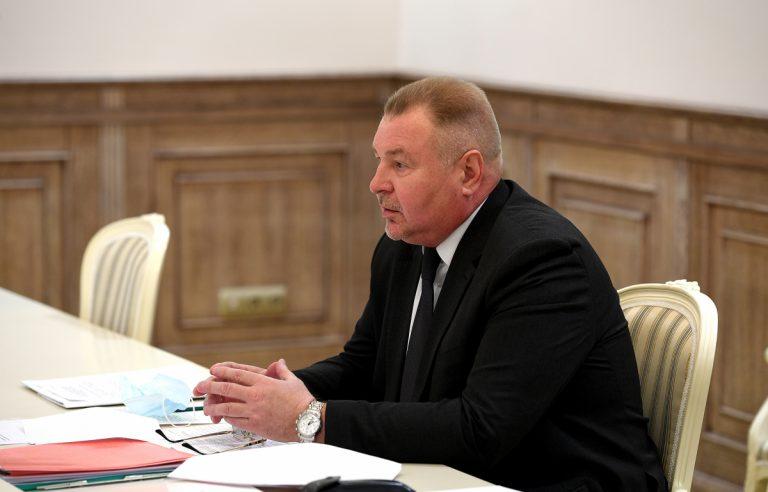 Игорь Руденя встретился с главой Калининского района Андреем Зайцевым