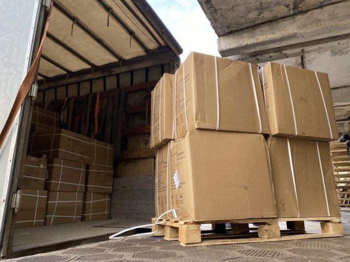 В Тверскую область привезли благотворительную помощь