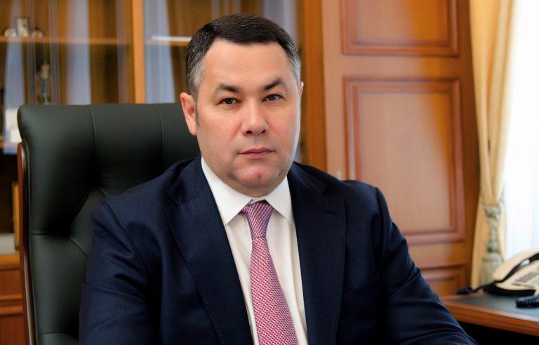 Игорь Руденя в июне вновь находится в числе лидеров в медиарейтинге губернаторов ЦФО