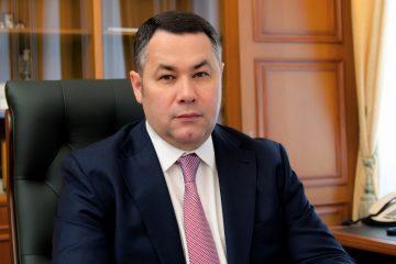 Игорь Руденя поздравил строителей Тверской области с праздником