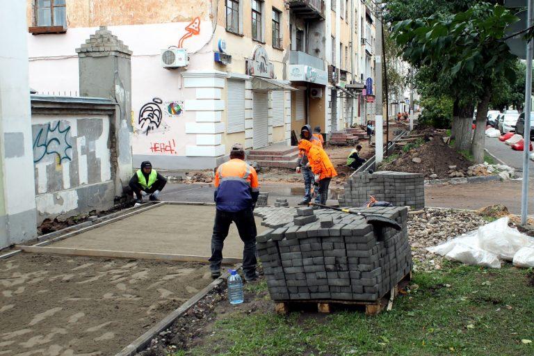 В Твери завершают ремонт дорог