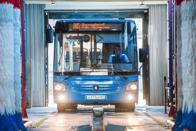Более 19 миллионов тверичан перевезли автобусы с начала года