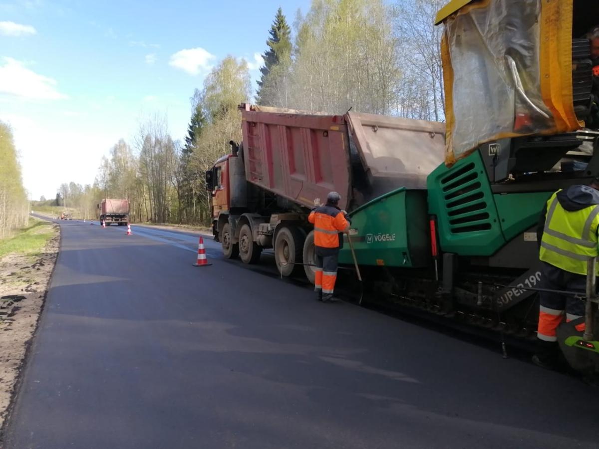 Тверскую и Вологодскую области соединит отремонтированная дорога за 3,5 млрд рублей